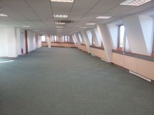 Tessera Teviot carpet tiles installed to large office space