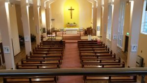 Karndean and Carpet installed at St Aidens Parish,